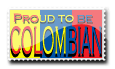 Stamp Colombia by mesmerizethis