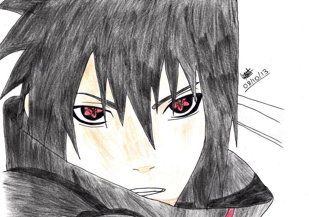 Sasuke - Mangekyou Sharingan! by DarkSuperNinja on DeviantArt