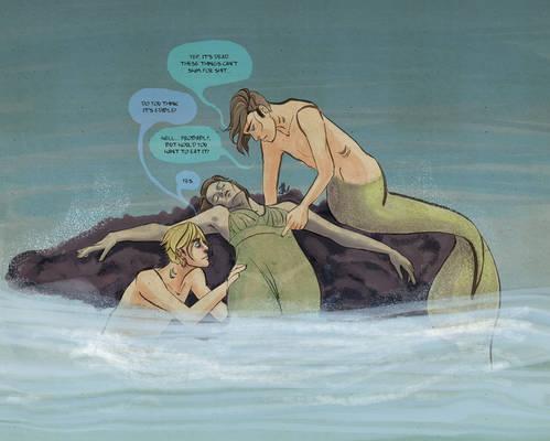 Mermen are classy monsters