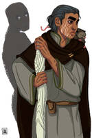Ged from Earthsea by deathbearbrown
