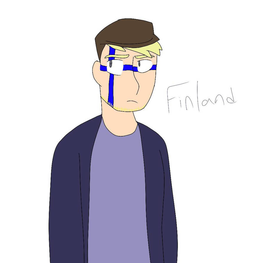 [terrible] Finland by Ryan-the-emo-guy
