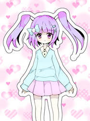 Pastel girl by Diana-AS