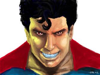 Superboy Prime by wanaf
