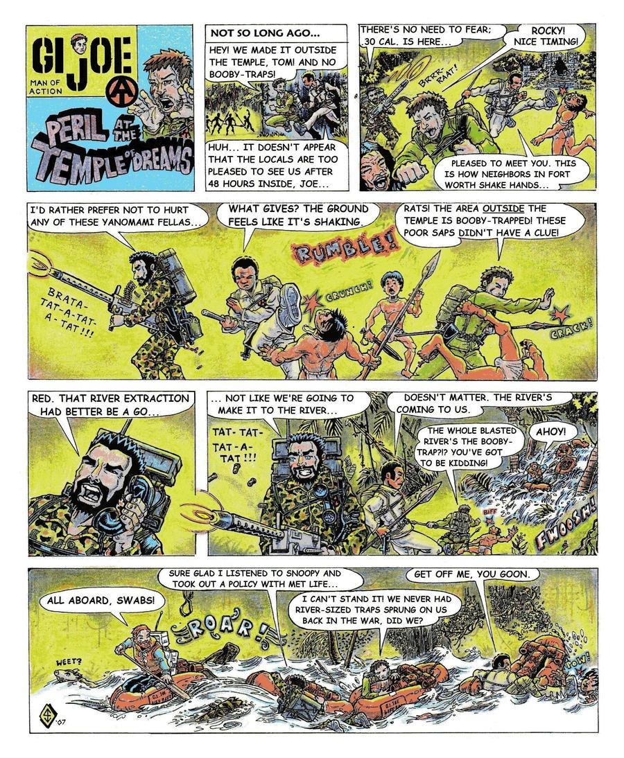 G.I. Joe + the Adventure Team 1 by seaneley1