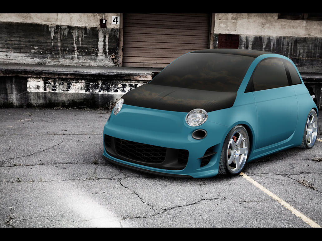 fiat 500 mate paint by tanakatuning on deviantart. Black Bedroom Furniture Sets. Home Design Ideas