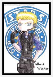 STARS Albert Wesker by marikimaru