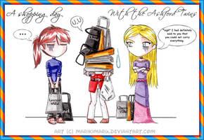Some Shopping Between Us by marikimaru
