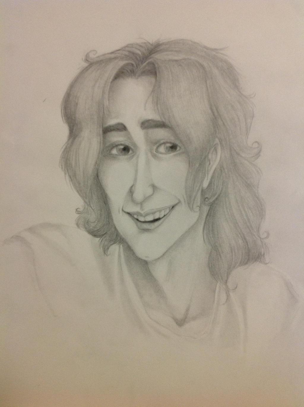 Elijah (Realistic Sketch) by Chrissyissypoo19