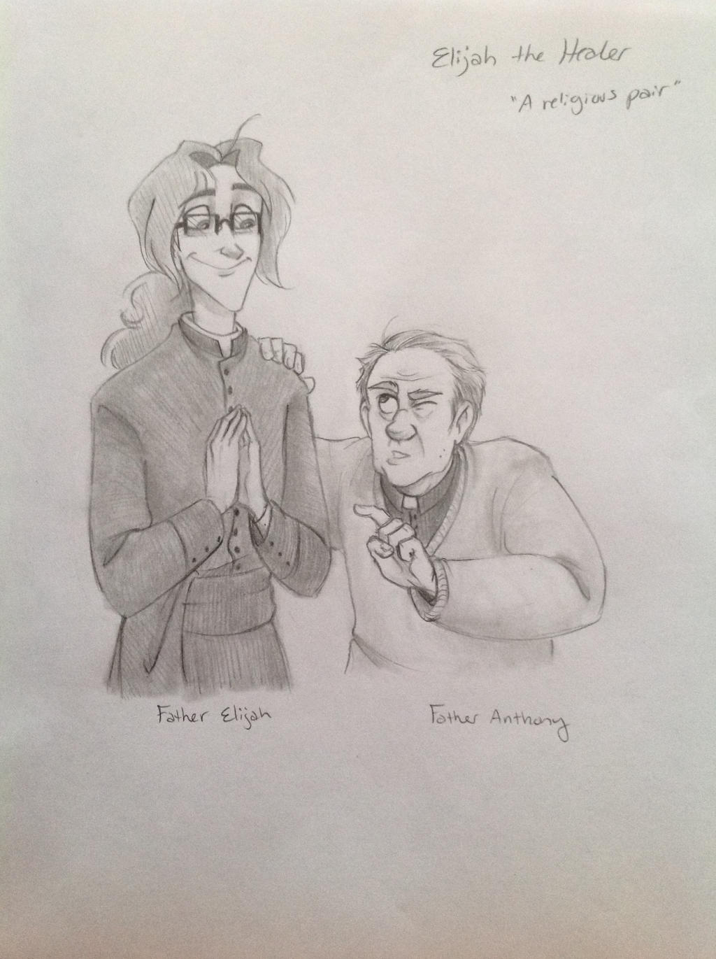 A religious pair by Chrissyissypoo19