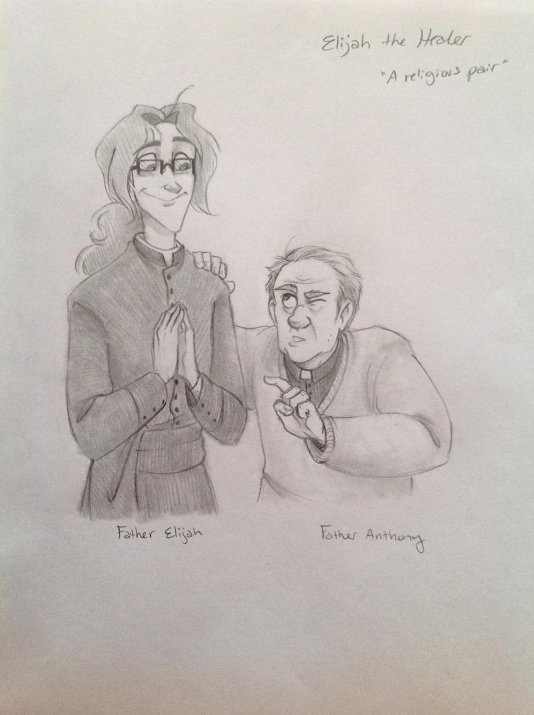 A religious pair by Chrissyissypoo19
