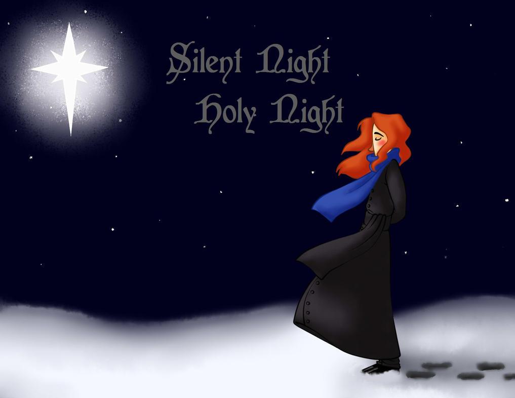 Elijah Silent Night Typography by Chrissyissypoo19