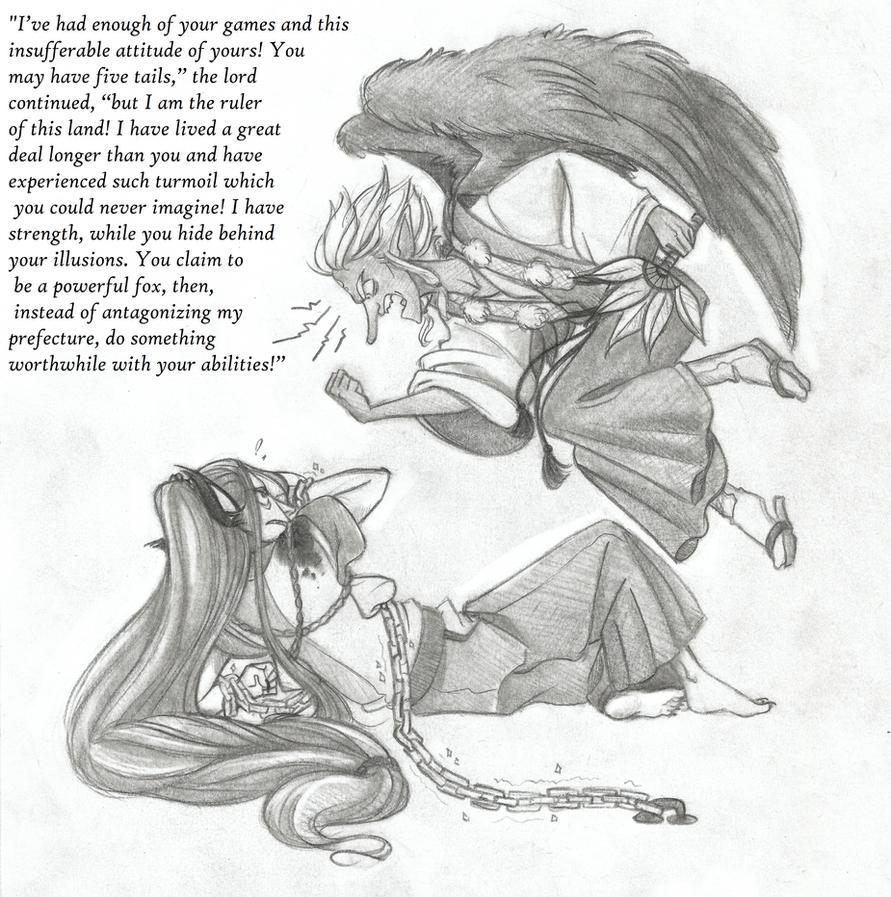 Yokai Chapter 3 Scene with Quote by Chrissyissypoo19