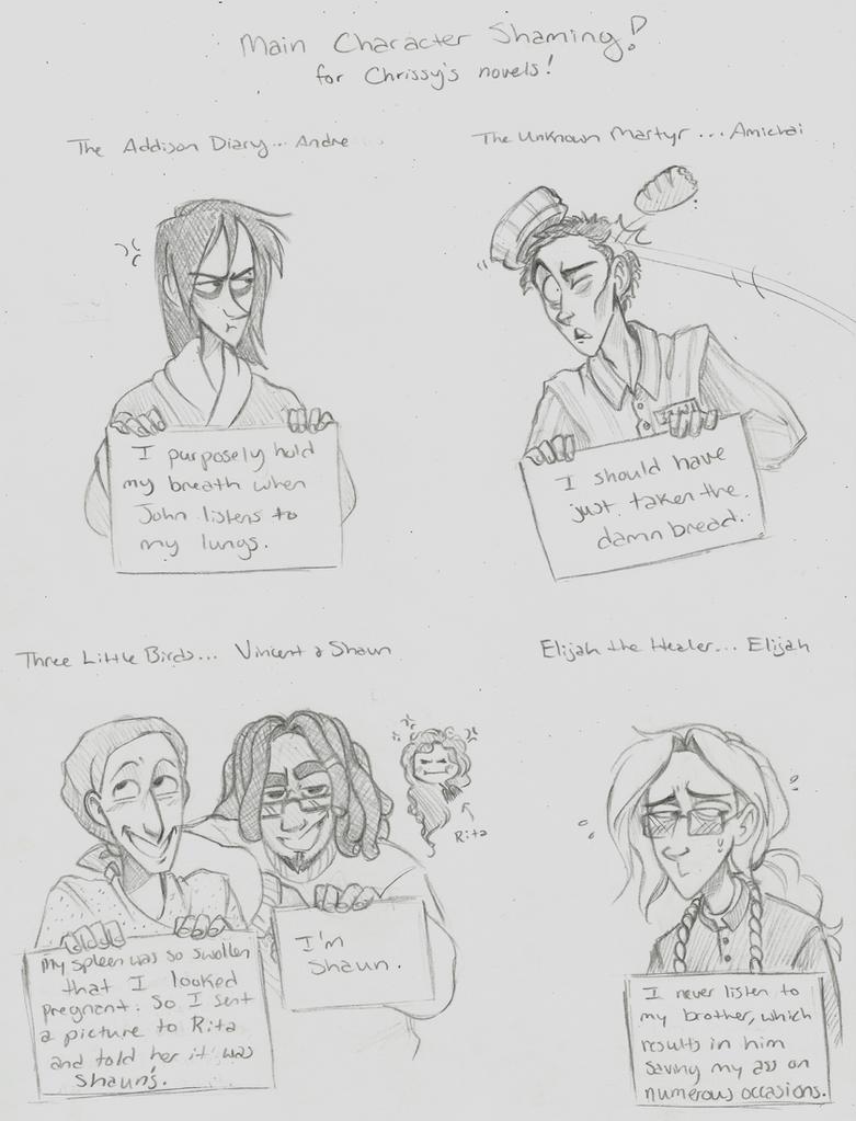 Character Shaming by Chrissyissypoo19