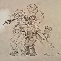 Hero Hugs by Chrissyissypoo19