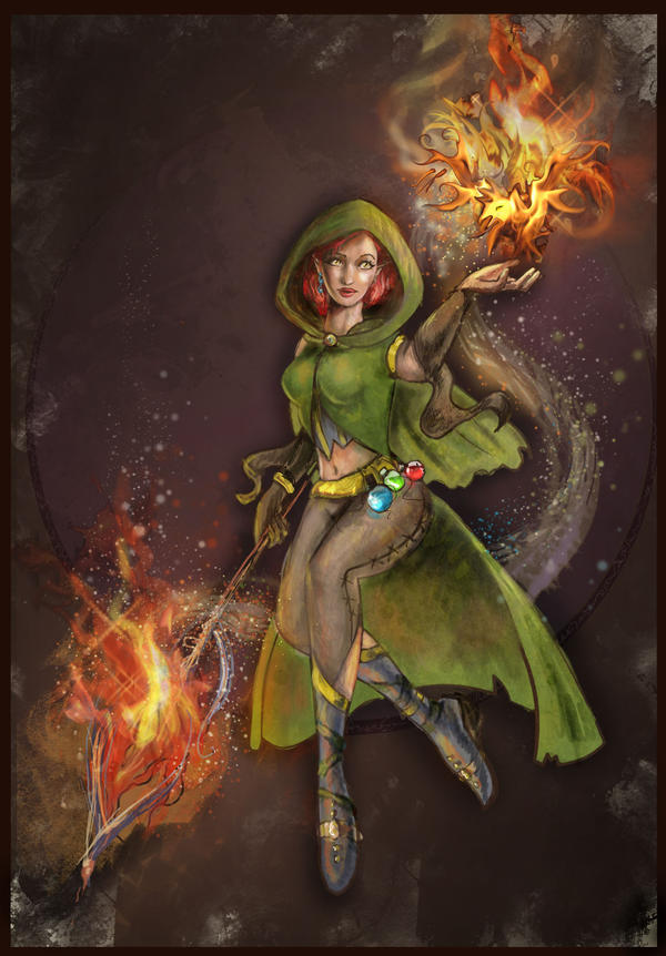 Sorcerer by Ines92