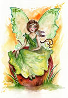 Earth fairy by Ines92