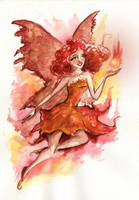 Fire fairy by Ines92