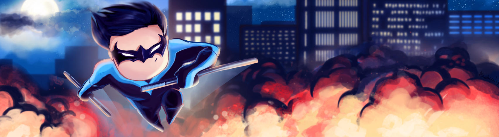 Nightwing by Ines92