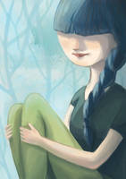 Blue by Ines92