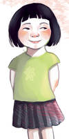Little Chinese girl by Ines92