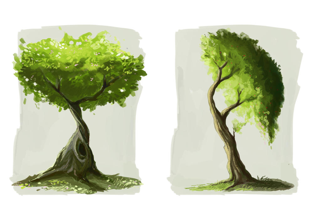 Trees by Ines92