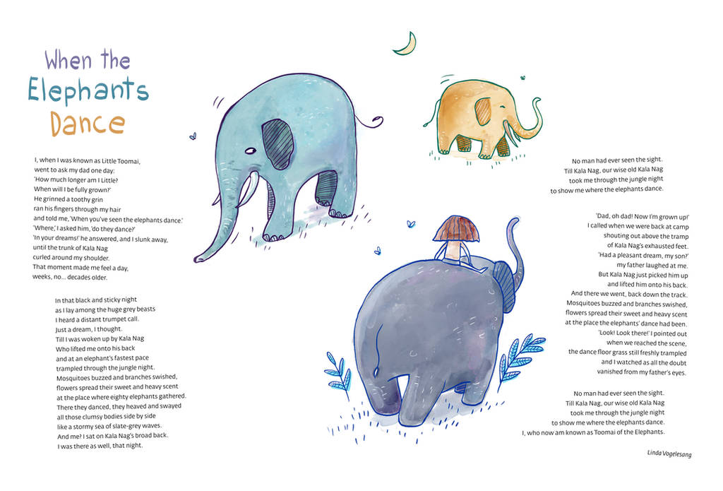 Jungle Book 3 - The Elephants by Ines92