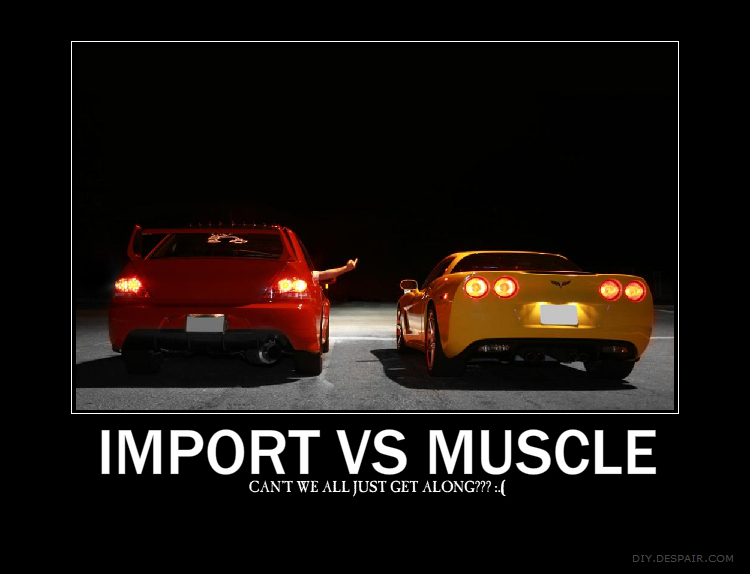 Import VS Muscle Motivation by krocialblack