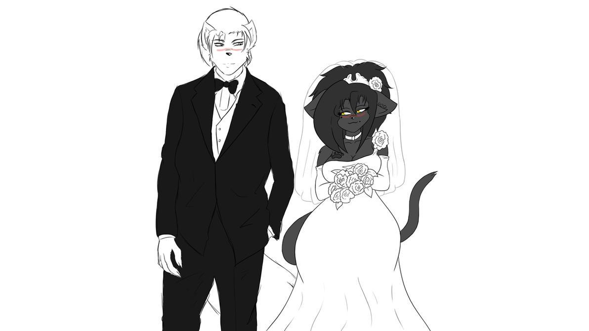 Wedding Bells Ring The Bride And Groom By Krocialblack