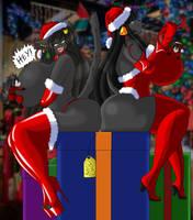 Keep Away (Christmas Funtime 16+) by krocialblack