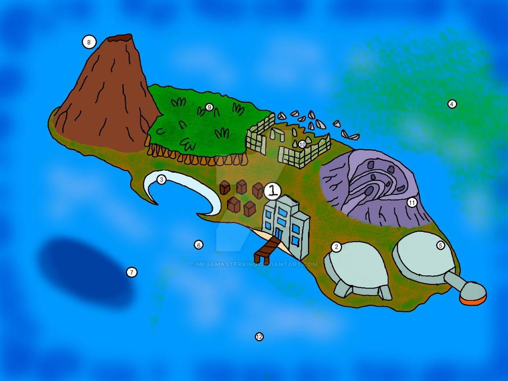 Mythic Island Resort by MegaMasterKing