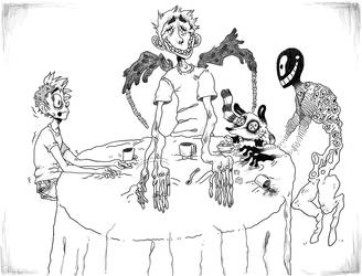 Koko's tea party by Bubonico