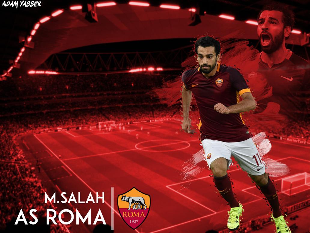 Mohamed Salah Wallpaper HD (AS ROMA) By Adamyasser802 On