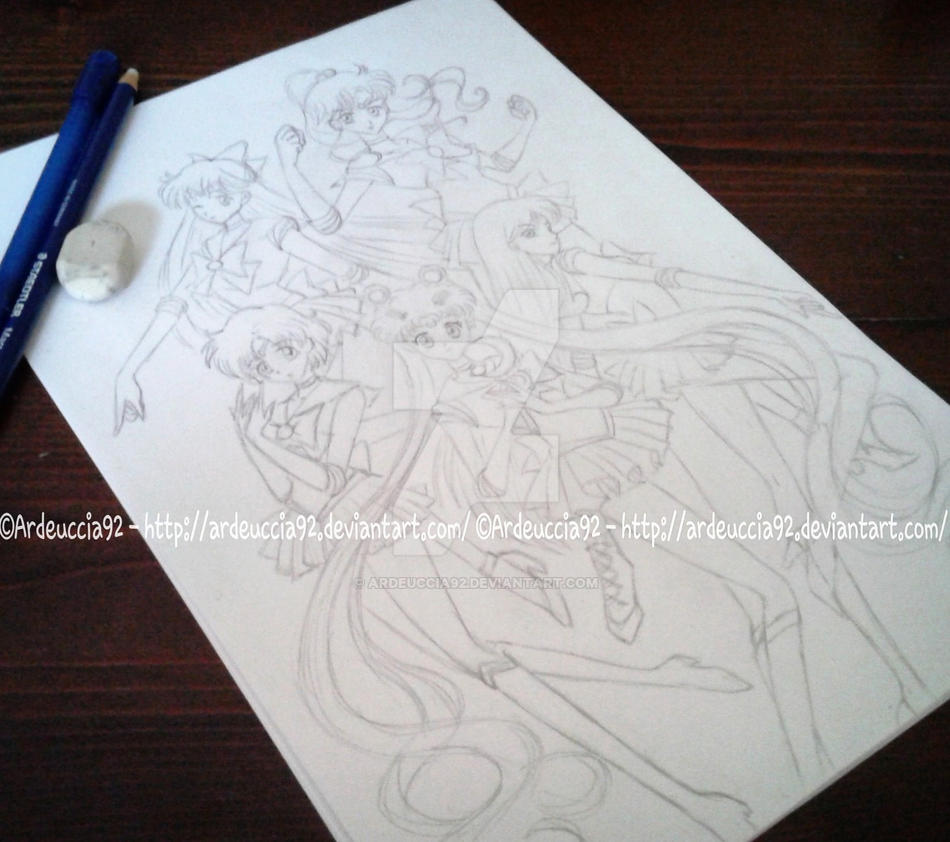 STARTING: Sailor Guardians - Sailor Moon Crystal by Ardeuccia92