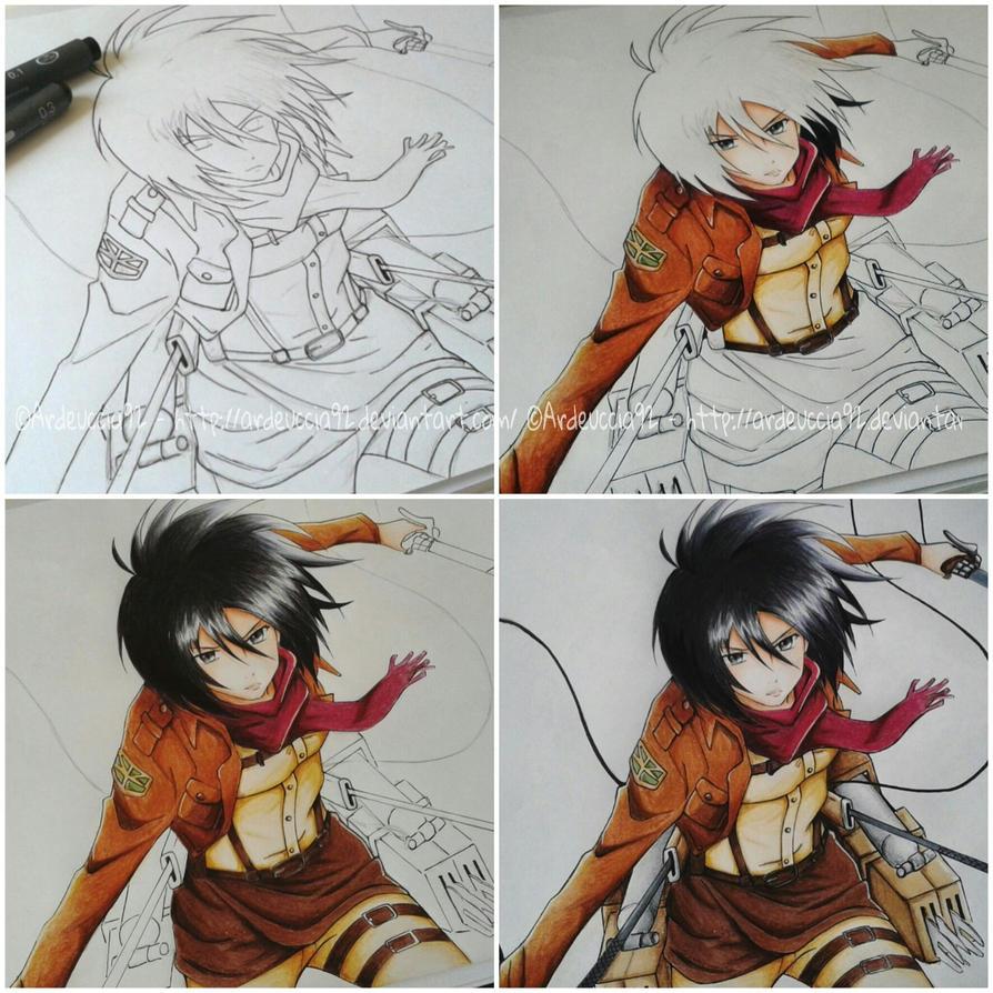 ALL WORK: Mikasa Ackerman - Attack on Titan by Ardeuccia92
