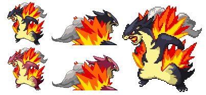 [Request: PKMN] Mega Typhlosion by Twistyropes