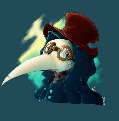 That one plague doctor...