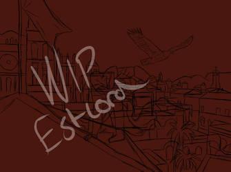 WIP Altair Ibn-La Ahad by Eastlord