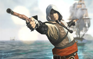 Edward Kenway by Eastlord