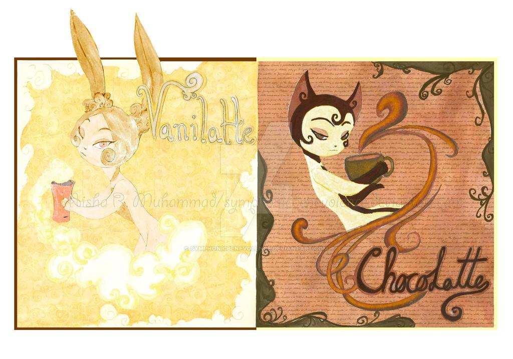 Chocolatte et Vanilatte by SymphonicBenevolence