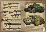 WWXI Weapons/Tanks