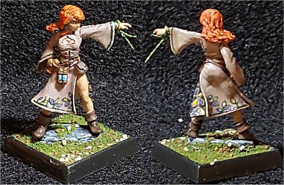 LIttle Tia, Human Sorceress by RogueDM