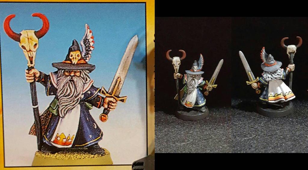 Talisman Wizard by RogueDM