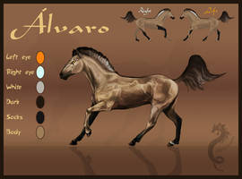 Alvaro Reference Sheet by CobraVenom
