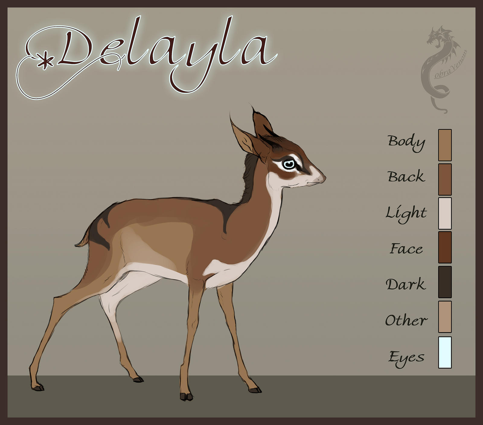 Delayla Reference Sheet by CobraVenom