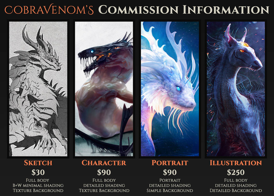 Commission Info: Open to Enquiries