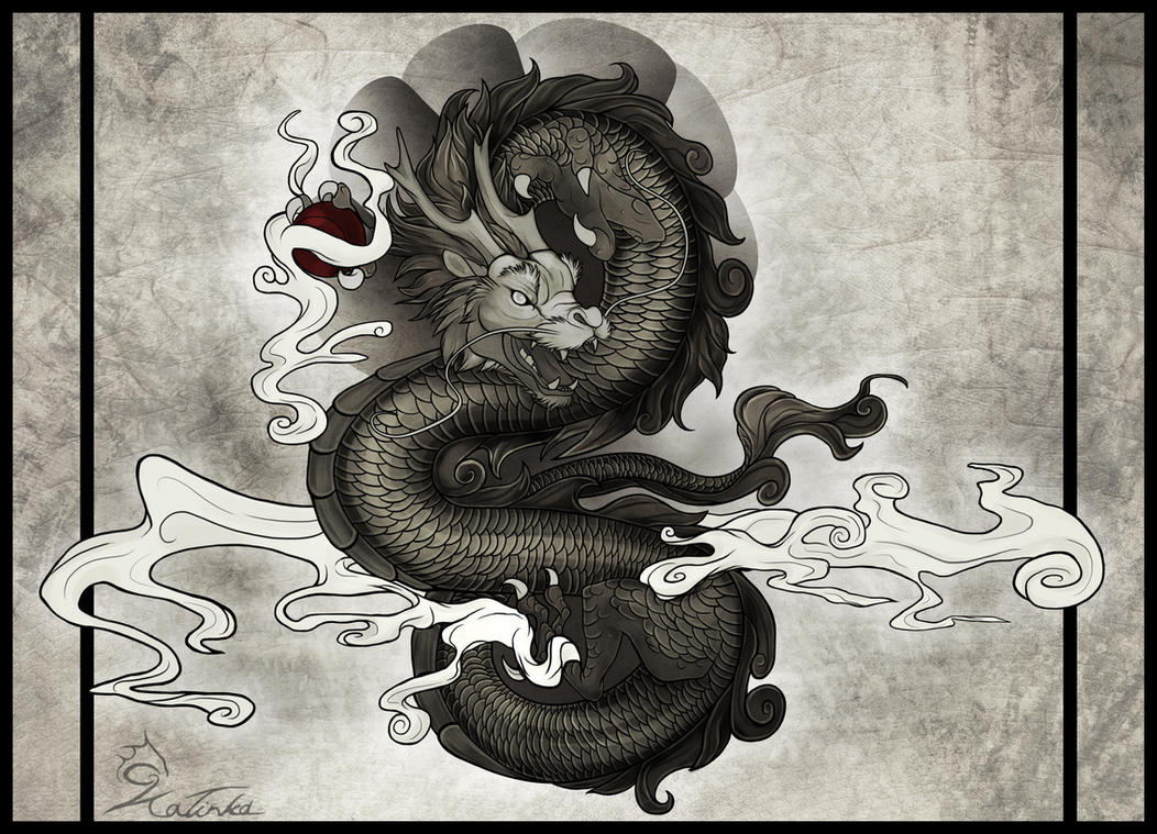 Oriental Dragon by CobraVenom