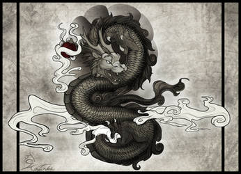 Oriental Dragon by CobraVenom