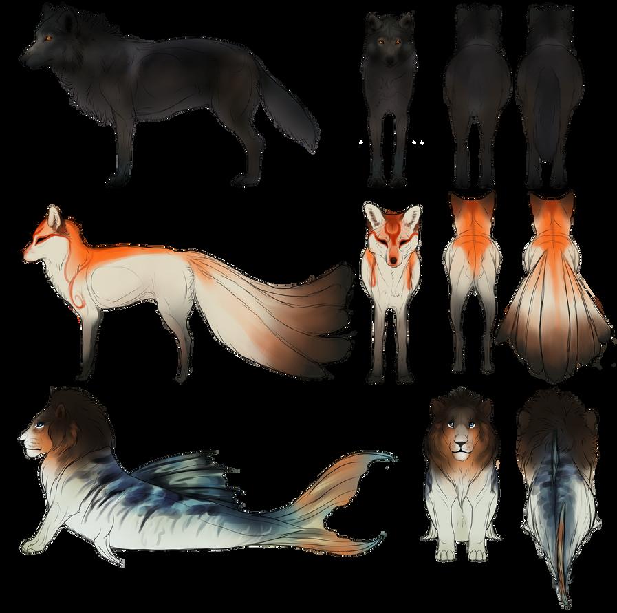 Mythical Creatures 2 - Commission by CobraVenom on DeviantArt