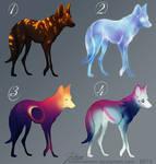 Wolf Adoptables - Batch three - CLOSED