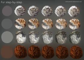 Fur step-by-step by CobraVenom